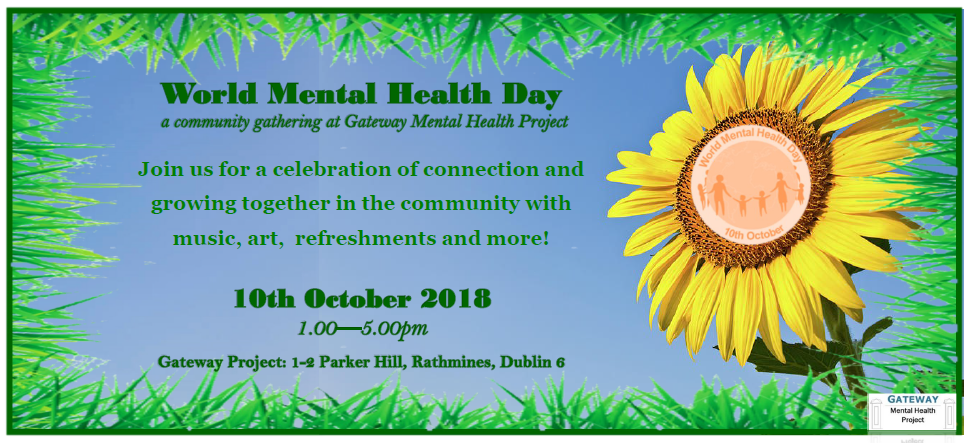 Gateway Mental Health Project World Mental Health Day At Gateway