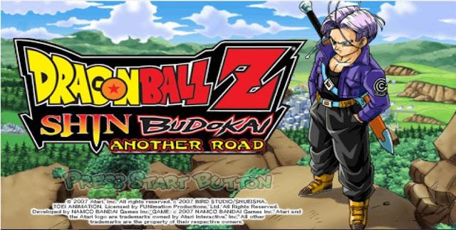 Dragon Ball Z Shin Budokai Another Road PSP Download