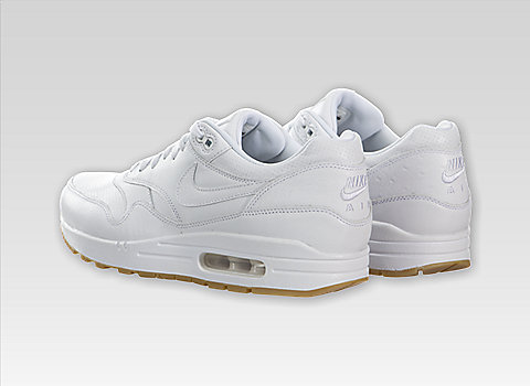 huge selection of 6ffb5 2aecb Heres the Nike Air Max 1 Leather PA in the WhiteGum Light Brown-White  colorway. You can purchase thes kix online at Sneakerhead.com and other Nike  ...