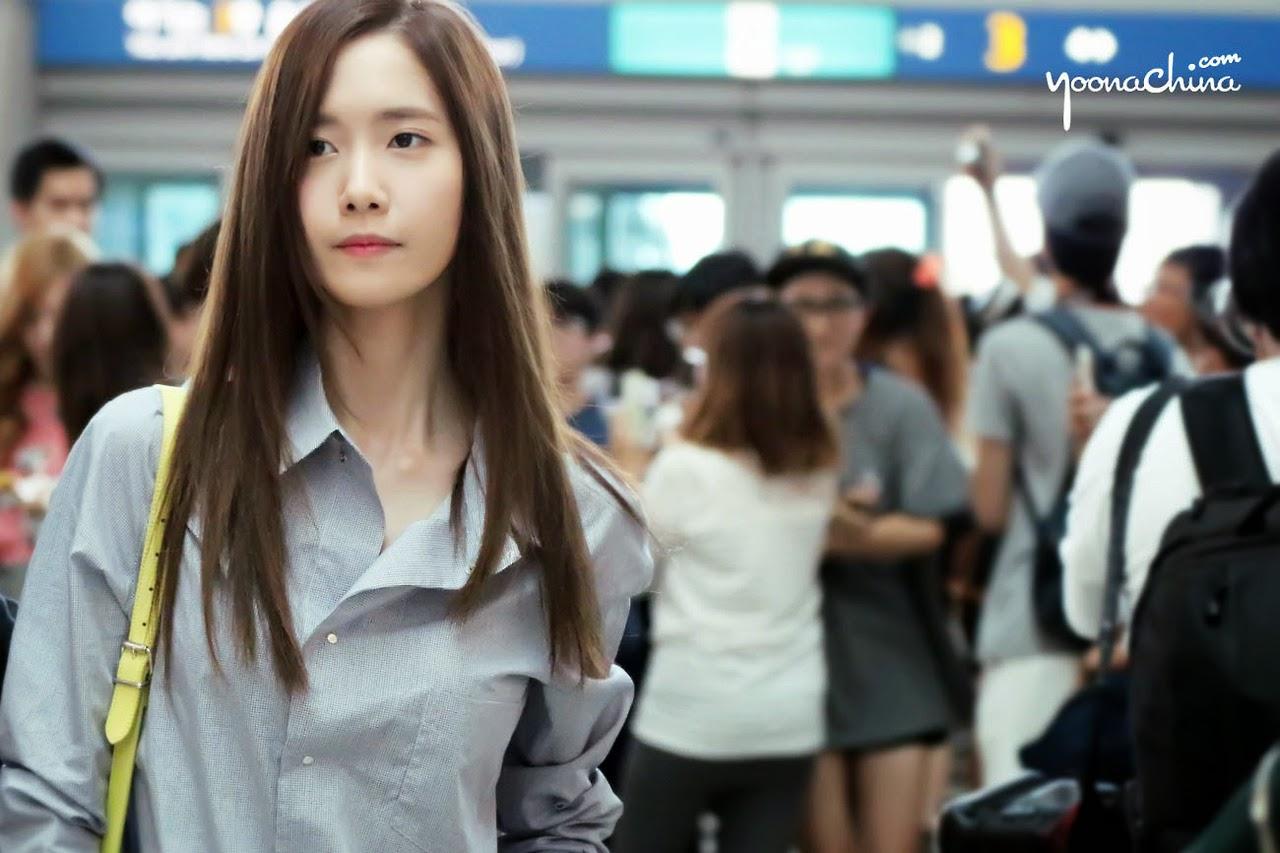 Soshi95: Yoona @ Incheon Airport To Hong Kong HD Pictures By Yoonachina 020814