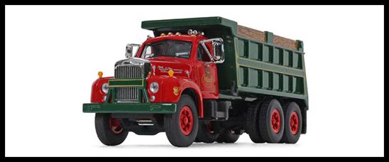 1:64 Scale Mack B61 Dump Truck