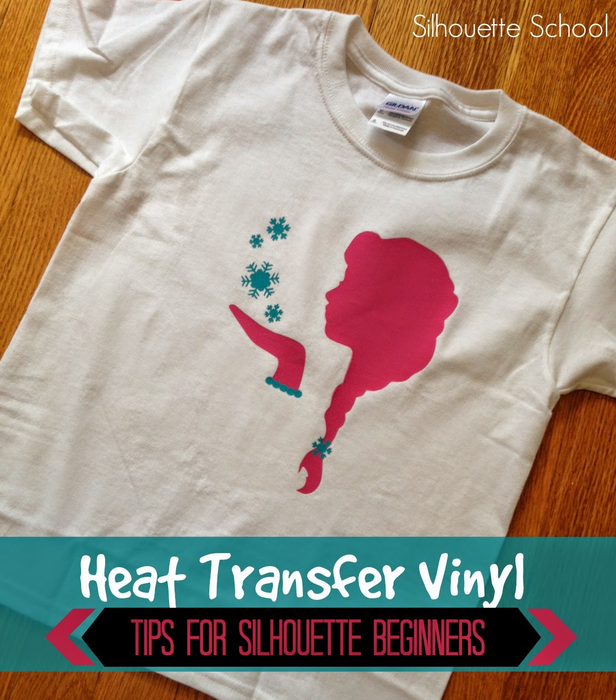 Silhouette Heat Transfer Vinyl Tips For Beginners