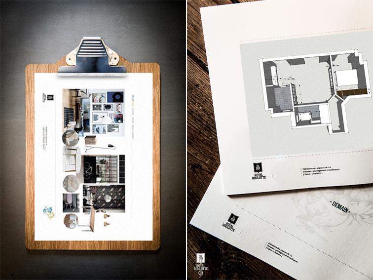 Un appartamento di 55 mq a Parigi firmato Royal Roulotte progetto