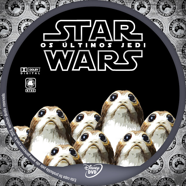 Label DVD Star Wars Os Últimos Jedi [Exclusiva]