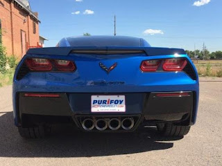 2016 Corvette at Purifoy Chevrolet Fort Lupton Colorado
