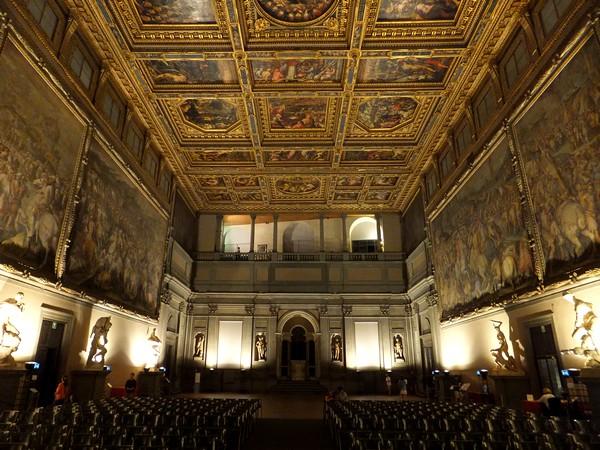 florence toscane palazzo vecchio salle cinq-cents