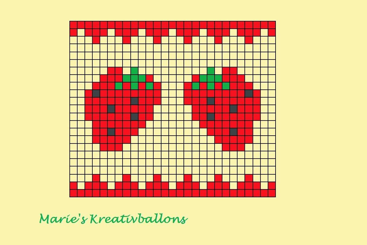 Erdbeere stricken