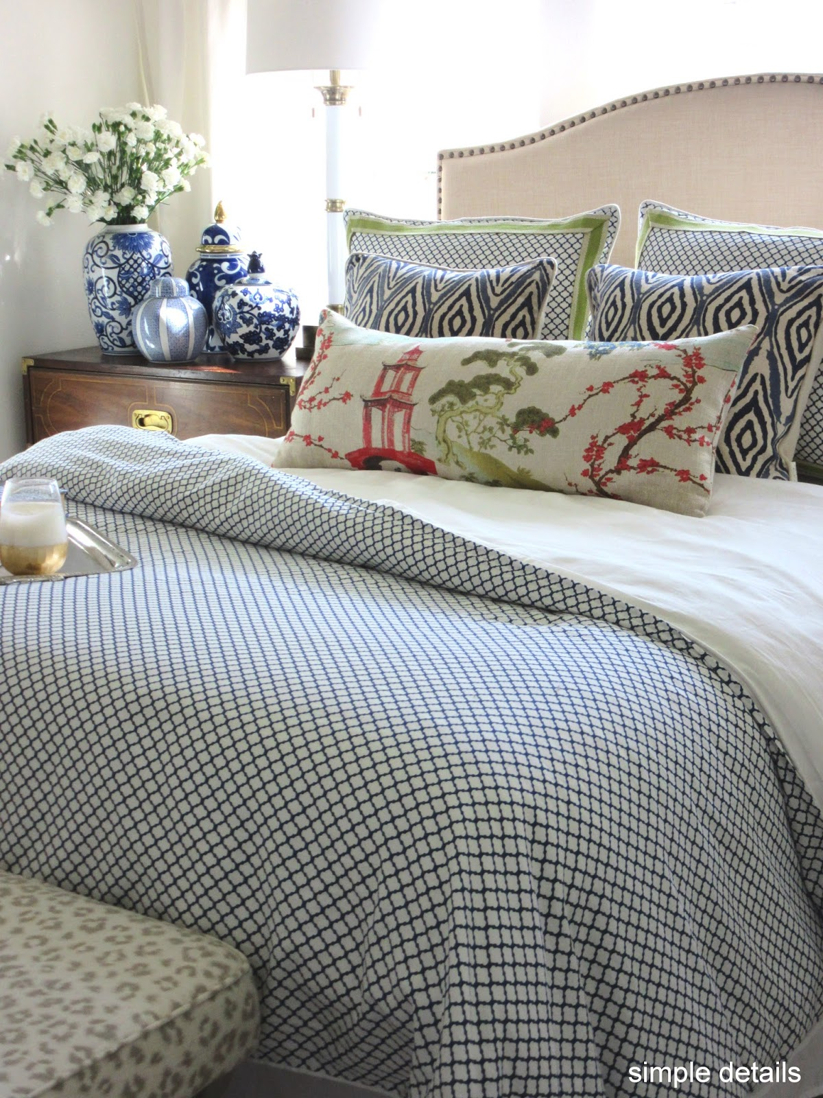 Simple Details Bedroom Refresh with Crane & Canopy