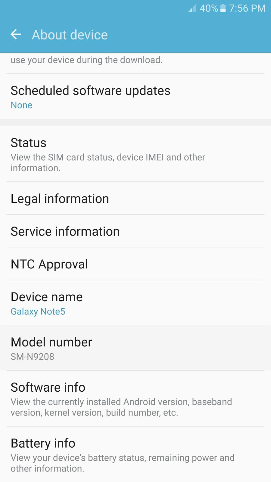 GSM FIRMWARE COM: Samsung Note 5 SM-N9208 Cert File DUAL SIM IMEI