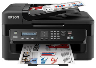 has a concise pattern alongside a tiny footprint Epson WorkForce WF-2520NF Drivers Download