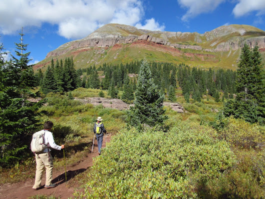 Ten Miles at Timberline with Long-Hiker Gayle
