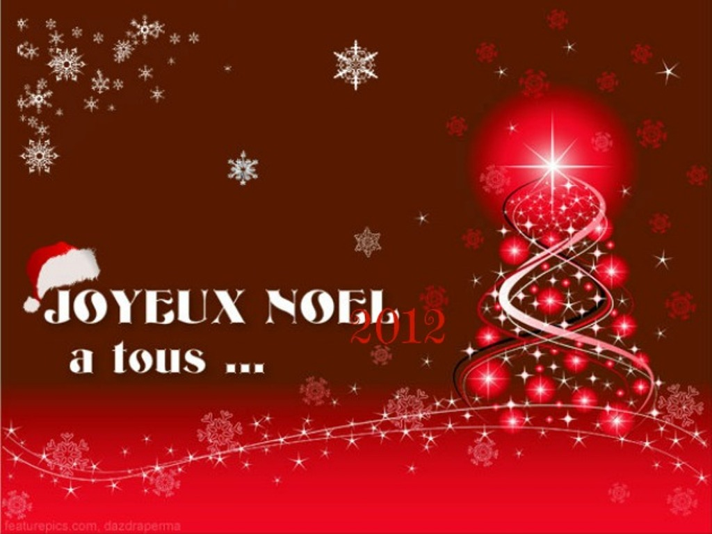 Merry Christmas In French