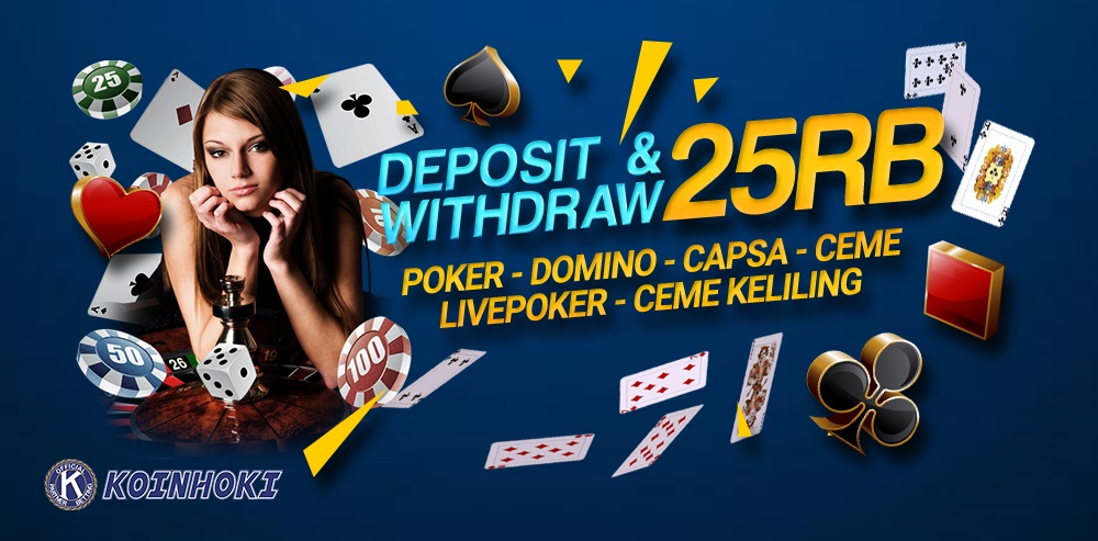Koinhoki™ Situs Judi Poker Online Terbaik Agen Poker Terpercaya