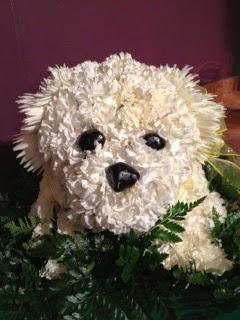 Bank Of Flowers Personalized Sympathy Arrangement