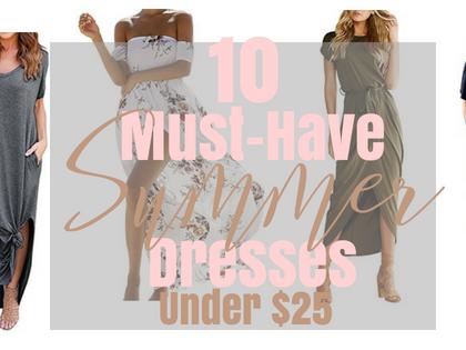 10 Must-Have Summer Dresses Under $25