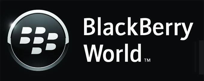 Blackberry World Logo