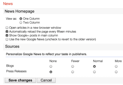 How to Disable Google News for Tablets