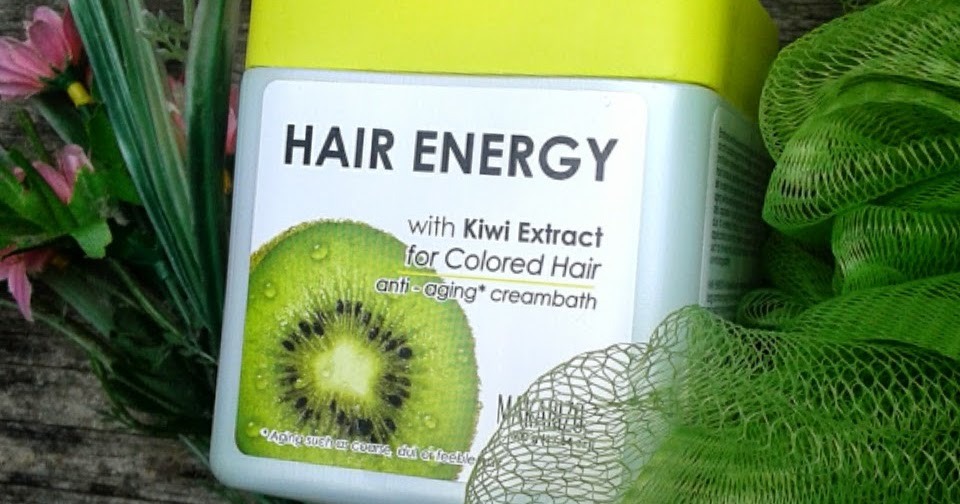 Review Makarizo Hair Energy Anti Aging Creambath With Kiwi For Colored Hair Jurnal Madamabi