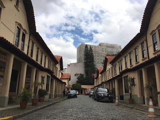 Blog 'lugares de memória' - Matéria sobre Paranapiacaba