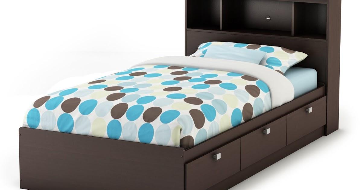 Platform Bed With Storage Drawers Underneath