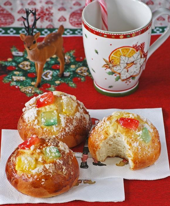Bollos De Roscon De Reyes