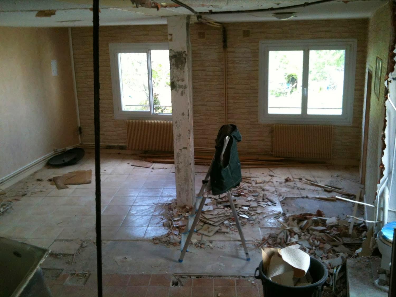 Comment Enlever Colle Carrelage Sur Dalle rénovation de ma maison: enlever des dalles de lino (dalles pvc)