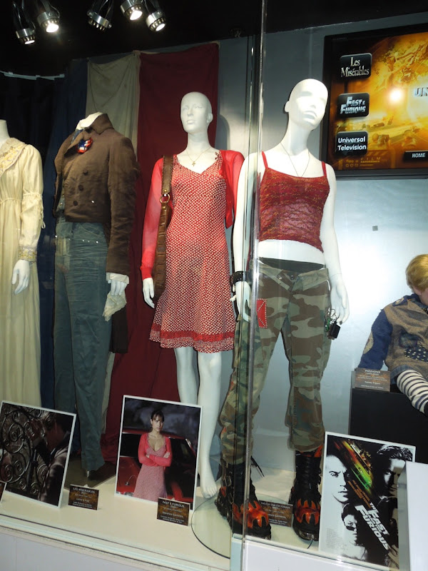 Fast Furious movie costumes Universal Studios Hollywood