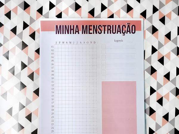 Planner 2019 #13: Ciclo menstrual (download gratuito)