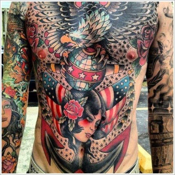 5 The best collection of tattoos on chest