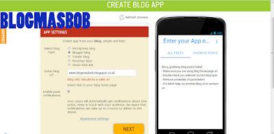 Cara Membuat Blog/Website Menjadi Aplikasi Android Terbaru