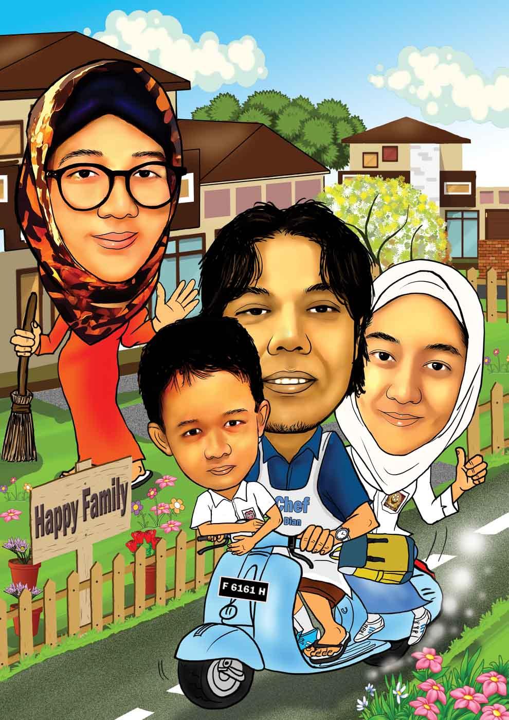 Jasa Karikatur Wajah Karikatur Digital Dan Manual Jasa Karikatur