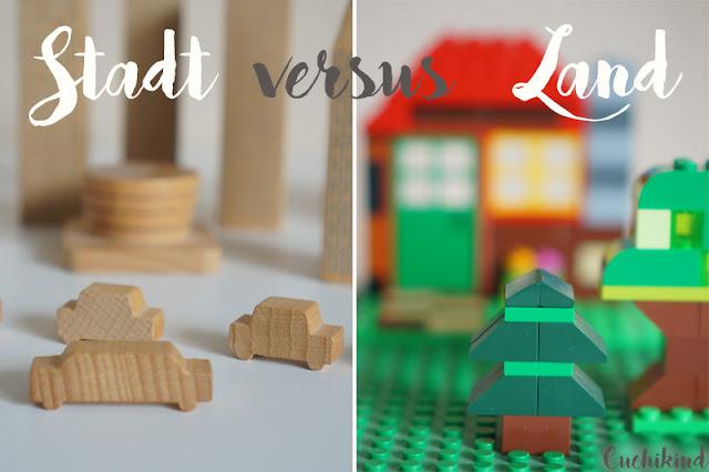 Stadt versus Land