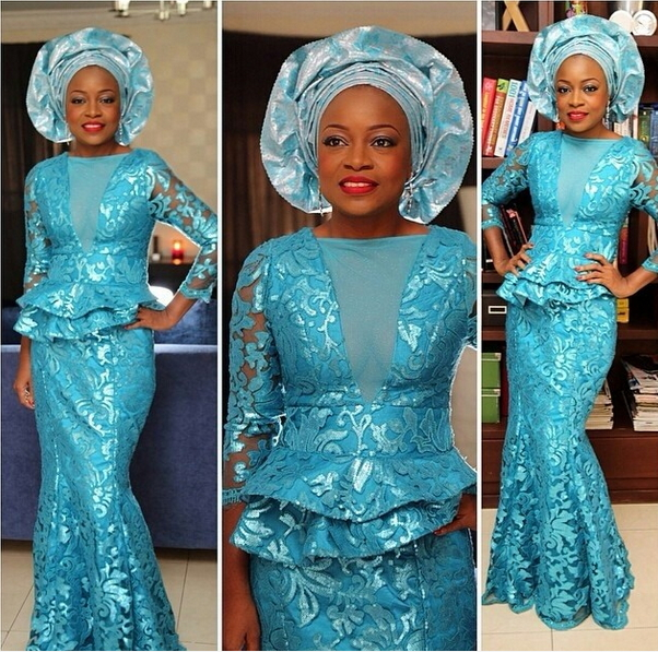 0a5add2a643 Lovely Nigerian Fashion Style - Lace Design - Debonke House Of Fashion