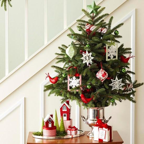 Fotos de rboles de navidad peque os colores en casa for Arbol de navidad pequeno