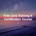 Core Java - Free Certification Program - Agenda