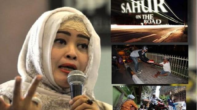 Dikritik, Fahira Idris Beberkan Beda Sahur On The Road Zaman Ahok Dibanding Gubernur Baru Jakarta