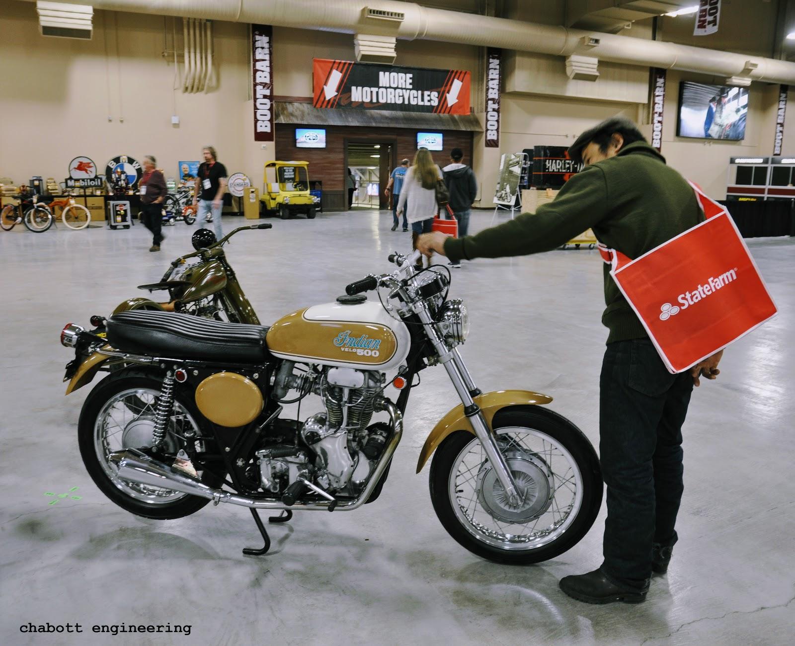 shinya kimura @ chabott engineering: MECUM auction in Las Vegas...