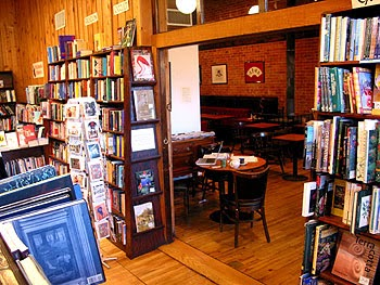 Trident Bookseller's and Cafe in Boston