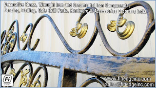 decorative gate hardware manufacturers exporters suppliers India http://www.finedgeinc.com +91-8289000018, +91-9815651671