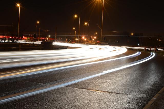 Motorway Night Photography