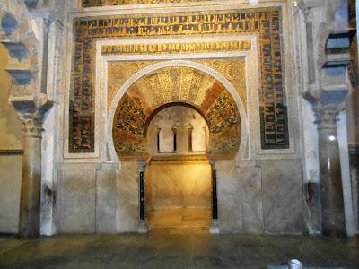 Mirhab en la Mezquita de Córdoba