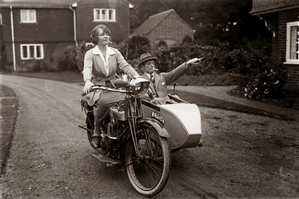 Vintage Milfs Riding Motorcycles Photos