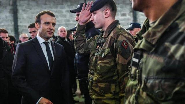 """Macron pide crear un ejército europeo para defenderse de """"EEUU"""""""