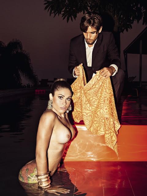 Rita Mattos gari gata nua pelada na playboy de setembro 21