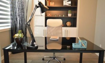 Well decorated office - Home Improvement Projects To Improve Appearance