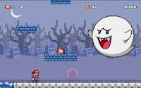 Help #Mario fend off the #Boos off Ghost island in #SuperMario Star Scramble! #HalloweenGames #SpookyGames