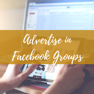 Advertise in Facebook groups