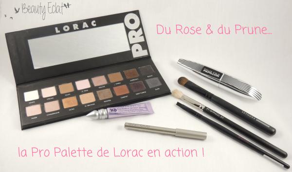tutoriel maquillage prune rose