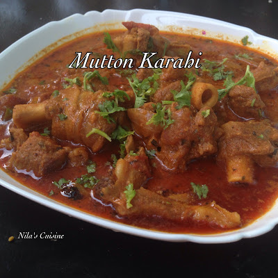 Mutton Karahi / Karahi Gosht