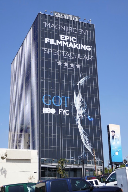 Giant Game of Thrones season 7 Emmy FYC billboard
